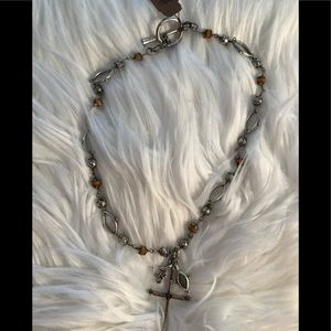 Lucky Brand Cross Necklace NWT
